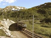 Train from Myrdal goes to Flam.