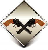 Guns sign