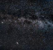Perseid Meteors On The Milky Way