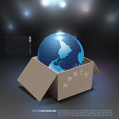 Vector Earth in a Box.