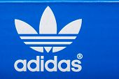 Adidas Sign On Adidas Shoe Box