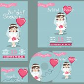 Cute bridal shower design