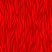 Vector Red Striped Background