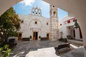 The Monastery Of Panagia Tourliani