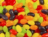 picture of jelly beans  - Colorful delicious fruity - JPG