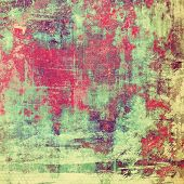 Abstract background, old vignette border frame