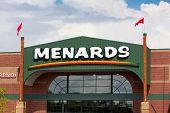 Menards Store Exterior
