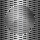 Metal And Glass Circle