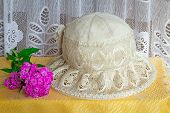 Female Summer Hat For Protection Against The Sun During Summer Holiday