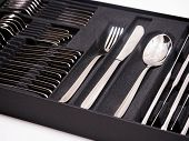 Cutlery Tray With New Cutlery