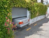 Parking At A Premium On Nelson's Steep Hills.