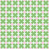 Green Claw Of Crab And Circle And Triangle And Swirl Pattern