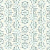 Silver Sweet Vintage Flower And Rectangle Pattern On Pastel Background
