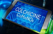 the chemical formula of colchicine