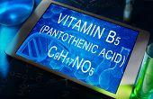 the chemical formula of Vitamin B5 (pantothenic acid)