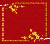 foto of eastern culture  - Chinese New Year greeting card background for design - JPG