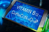 the chemical formula of vitamin B12