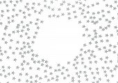 Holidays Background With Stars