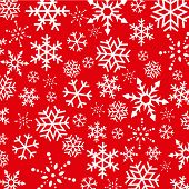 Christmas  Snowflakes abstract background