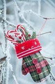 Greeting Card With Christmas Stuff