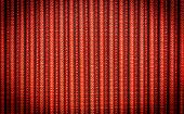 Red Corrugated Background