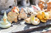Tiger,snake,rat,rabbit Figurine