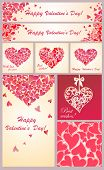 Greeting templates for Valentines day