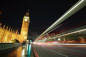 Big Ben London At Night