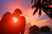 Romantic Lovers In Maldives