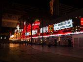 Neon Lights In Downtown Las Vegas