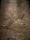 Bas relief - fine carved in stone