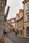 The Street Of Prague