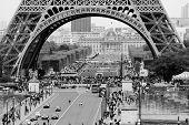 Under the Eiffel Tower, Paris