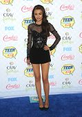 LOS ANGELES - AUG 10:  Cher Lloyd arrives to the Teen Choice Awards 2014  on August 10, 2014 in Los Angeles, CA.