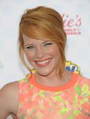LOS ANGELES - AUG 10:  Katie LeClerc arrives to the Teen Choice Awards 2014  on August 10, 2014 in Los Angeles, CA.