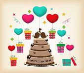 Retro Surprise Birthday
