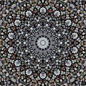 Pattern Of Macro Poppy Seeds