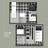 Fashion Tri-fold Brochure Template Design