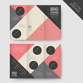 Modern Geometric Tri-fold Brochure