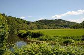 Landschaft mit einem Fluss