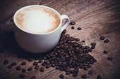 Coffe With Milk Im Mug