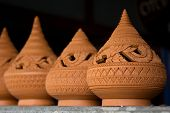 Thai Traditional Clay Pottery