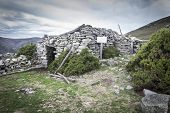Ruins of Fonfaraon hospital - Asturias, Spain