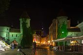 Old Tallinn In The Night