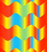 Colorful Waves Background.