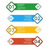 Infographics options banner.
