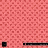 Happy valentine day vector