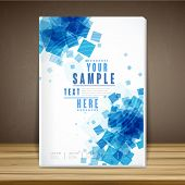 Abstract Book Cover Template Design