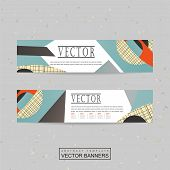 Collage Style Banner Template Design
