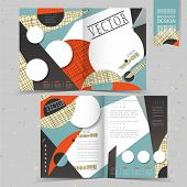 Collage Style Half-fold Template Design